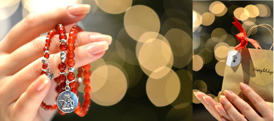 sterling silver angel carnelian bracelets